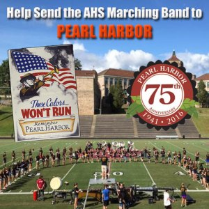 Help Send the Asheville High School Marching Band to Pearl Harbor