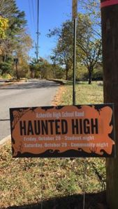 haunted-high-yard-sign