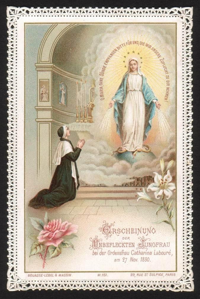 27 novembre : Apparition de la Vierge Marie à la Rue du Bac  Image001