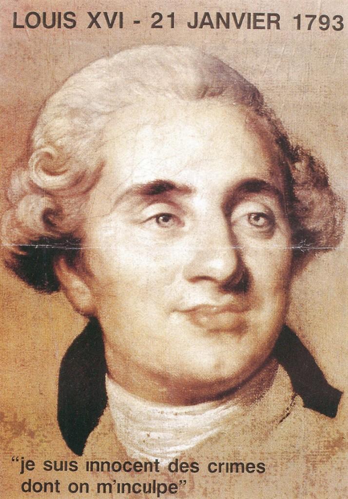 Louis <abbr> XVI </ abbr> - 21 de enero 1793