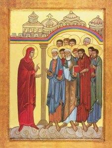 Marie-Madeleine annonce la résurrection