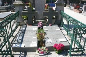 Tombe de Mgr de Ségur et de sa mère, la comtesse de Ségur