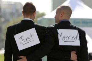 Mariage homosexuel...