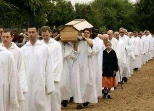Les funérailles de Frère Roger