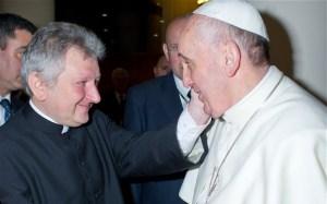 Ricca et pape-François