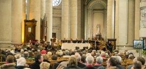 Anniversaire concile Vatican II, cathédrale d'Arras