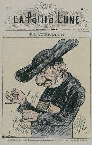 Caricature de Louis Veuillot, La Petite Lune, n°2