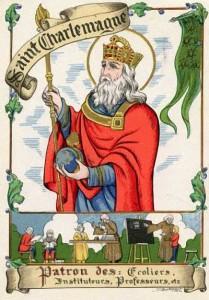 Saint-Charlemagne - Patron des Écoliers