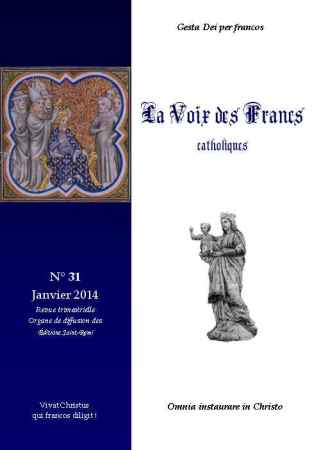 La Voix des Francs Catholiques, N° 31