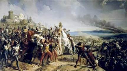 Bataille de Montgisard près d'Ascalon