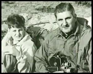 Fernand Navarra et son fils de 12 ans