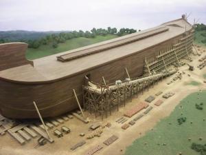 Un Néerlandais se construit une arche de Noé