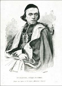 Mgr Claude-Henri-Auguste Plantier, évêque de Nîmes de 1855 à 1875