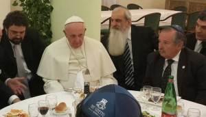déjeuner casher offert au Vatican