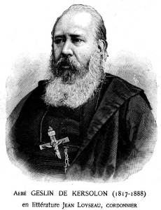 Abbé Paul Alexandre de Geslin de Kergoson