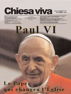 Chiesa viva N° 441, septembre 2011