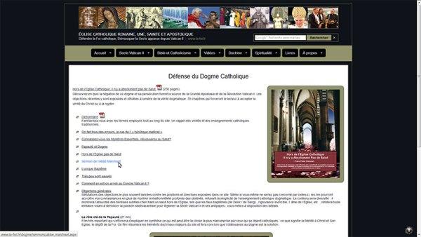 """Le site """"la foi.fr"""" diffuse l'Abbé Marchiset"""