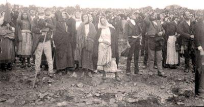 Temoins du Miracle du soleil à Fatima le 13 octobre 1917