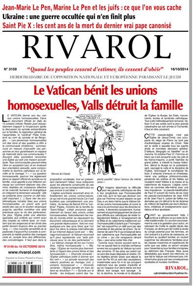 Journal Rivarol n°3159