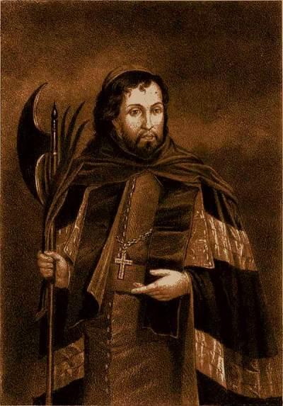 Saint Josaphat Kuncewicz de Wladimir, archevêque de Polotsk et martyr. 1623.