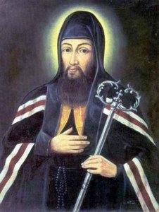 Saint Josaphat Kuncewicz de Wladimir, archevêque de Polotsk.