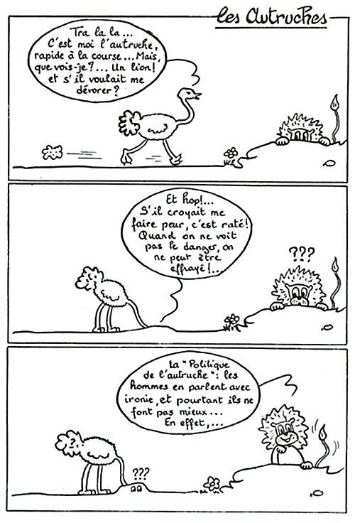 Les autruches