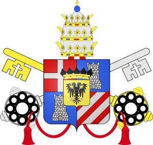 Armoiries du pape Clément <abbr data-recalc-dims=