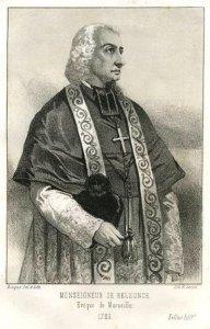 Mgr de Belzunce (Henri-François-Xavier de Belsunce  de Castelmoron)