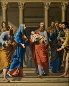 Philippe de Champaigne - Présentation du Christ au Temple