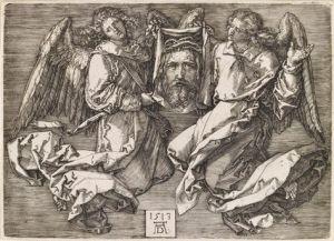 Albrecht Dürer : la Sainte Face portée par deux anges