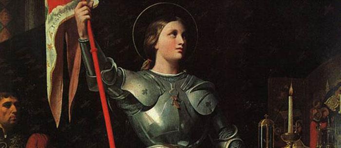 La bienheureuse Vierge Jeanne d'Arc