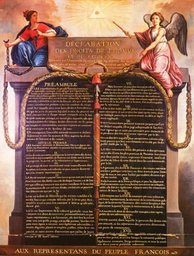 Déclaration Droits Carnavalet