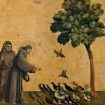 François d'Assise prêchant aux oiseaux