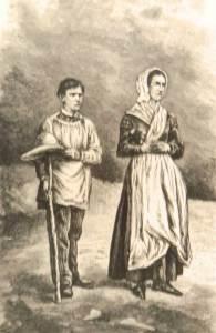 Maximin Giraud et Mélanie Calvat