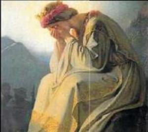 Notre Dame de La Salette en pleurs