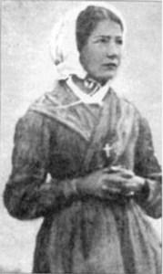Mélanie en 1846