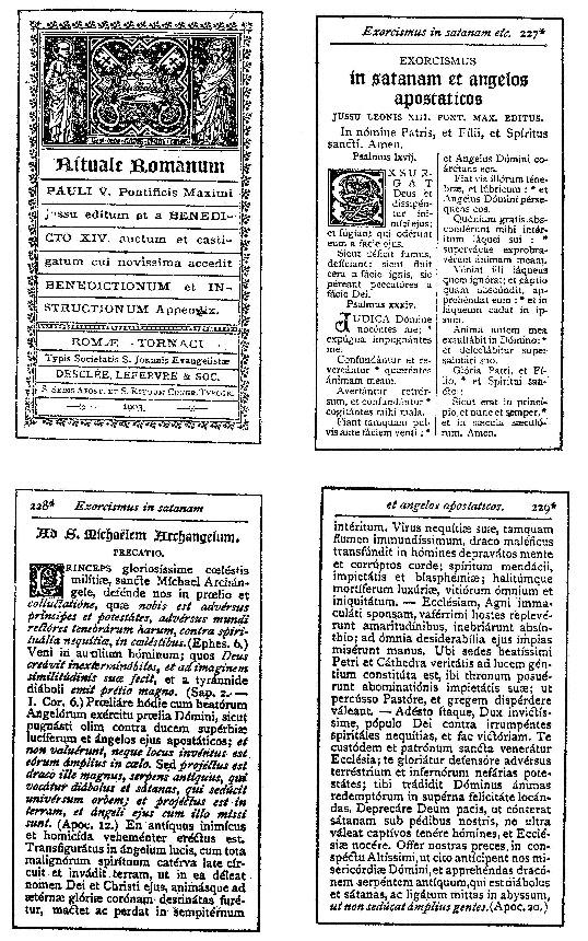Texte latin de l'exorcisme de Léon <abbr data-recalc-dims=