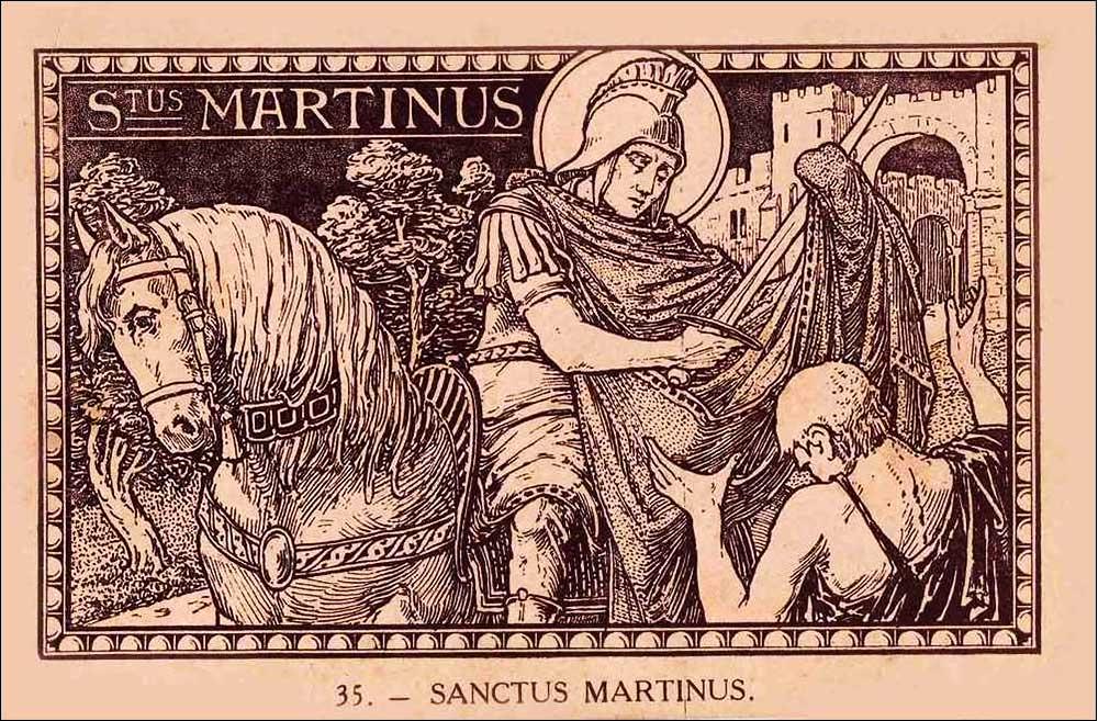 Saint Martin, Évêque et Confesseur.