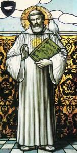 Saint Columbanus (Columbán en Irlandais)