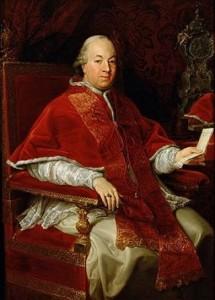 El Papa Pío VI