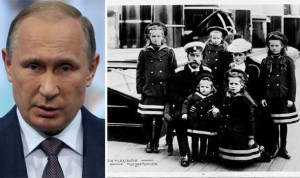 Vladimir Putin;  La familia real rusa Romanov