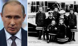 Vladimir Poutine ; La famille royale Russe Romanov