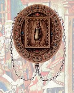 Ancien reliquaire de la Sainte Ampoule