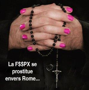 La F$$PX se prostitue envers Rome...