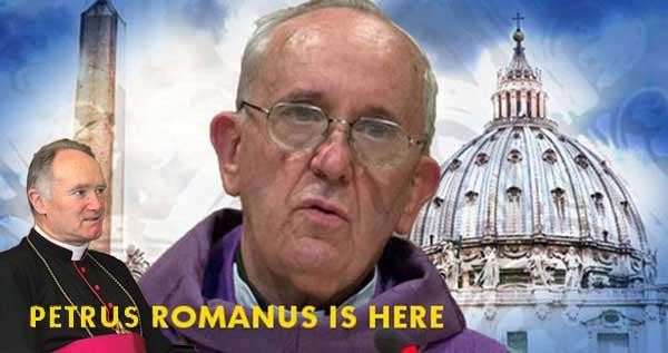 Petrus Romanus est là