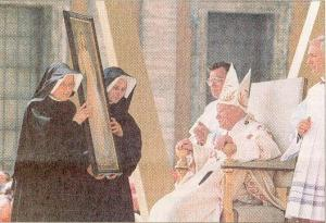 Sœur Faustine «béatifiée» le 18 avril 1993