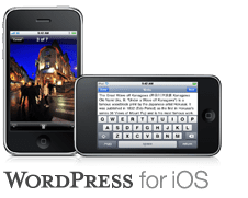 WordPress for iPhone OS