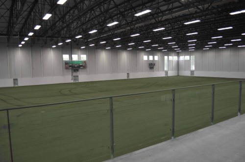 Full Size IndoorTurf field at Complexe Branchaud Briere