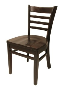 6400 Series - Ladderback Chair with Hardwood Seat