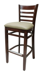 6400 Series - Ladderback Chair with Upholstered Seat